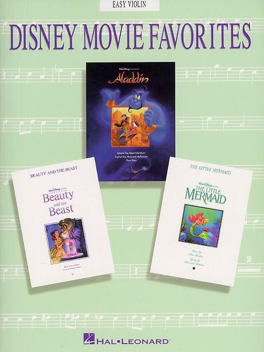 Disney Movie Favorites - DISNEY - Partition - laflutedepan.com