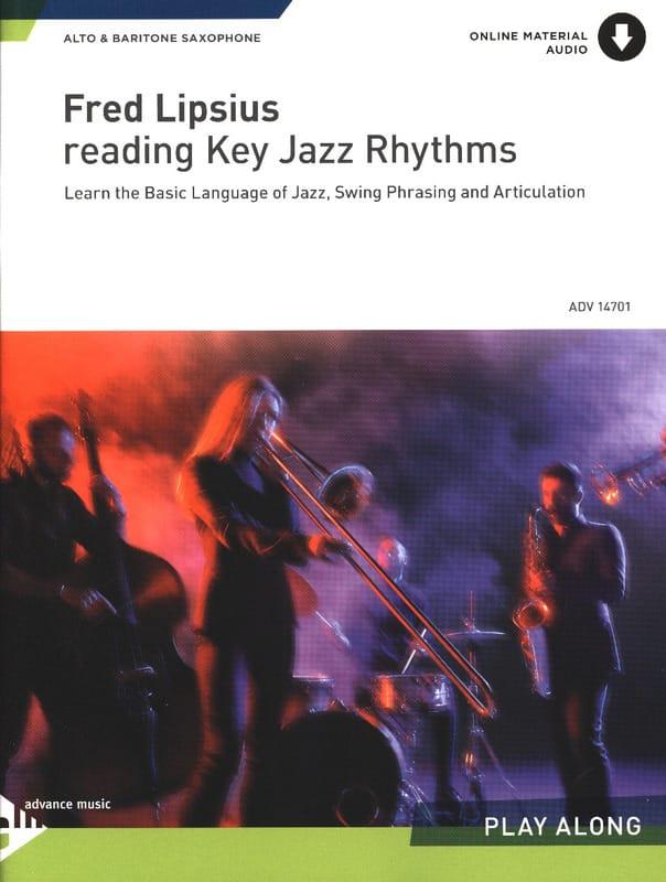 Reading Key Jazz Rhythms - Fred Lipsius - Partition - laflutedepan.com