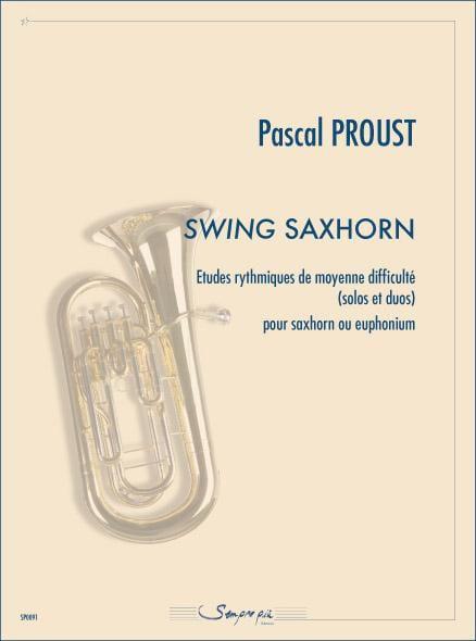 Swing saxhorn - Pascal Proust - Partition - Tuba - laflutedepan.com