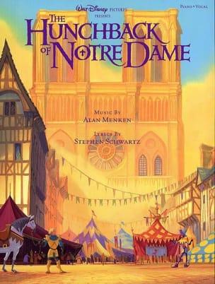 Le Bossu de Notre Dame DISNEY Partition Musique de film - laflutedepan