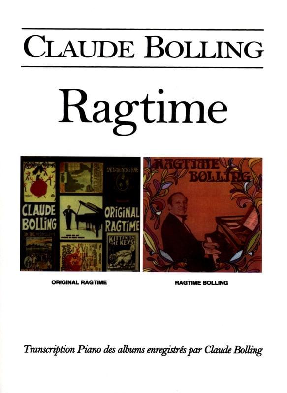 Ragtime - Claude Bolling - Partition - Jazz - laflutedepan.com