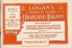 Logan's Complete Tutor For The Highland Bagpipe Logan laflutedepan