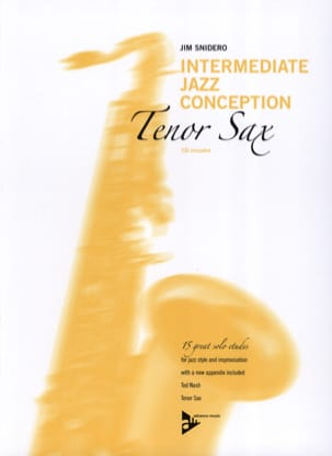 Intermediate jazz conception - 15 great solo etudes laflutedepan