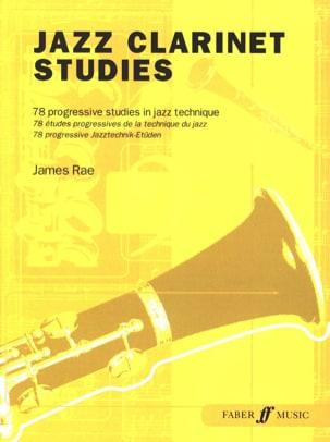 Jazz Clarinet Studies James Rae Partition Clarinette - laflutedepan