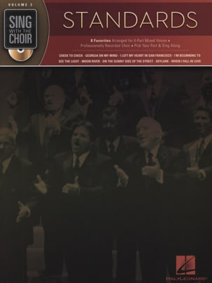 Sing With The Choir Volume 3 - Standards Partition laflutedepan