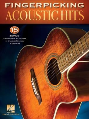 Fingerpicking Acoustic Hits Partition Pop / Rock - laflutedepan