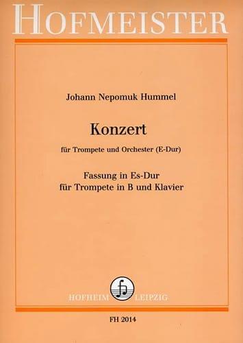 Konzert - HUMMEL - Partition - Trompette - laflutedepan.com