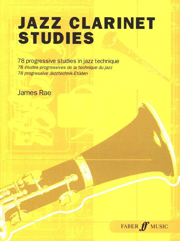 Jazz Clarinet Studies - James Rae - Partition - laflutedepan.com