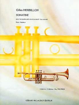Sonatine Gilles Herbillon Partition Trompette - laflutedepan