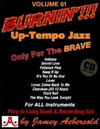 Volume 61 - Burnin !!! METHODE AEBERSOLD Partition Jazz - laflutedepan