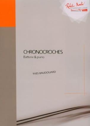 Chronocroches Yves Baudouard Partition Batterie - laflutedepan