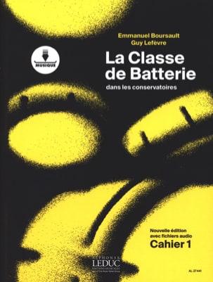 La Classe de batterie dans les conservatoires Cahier 1 laflutedepan