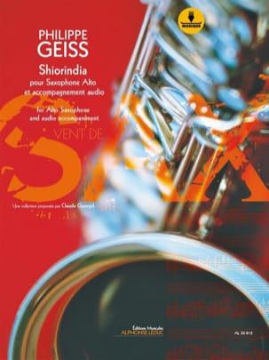 Shiorindia Philippe Geiss Partition Saxophone - laflutedepan