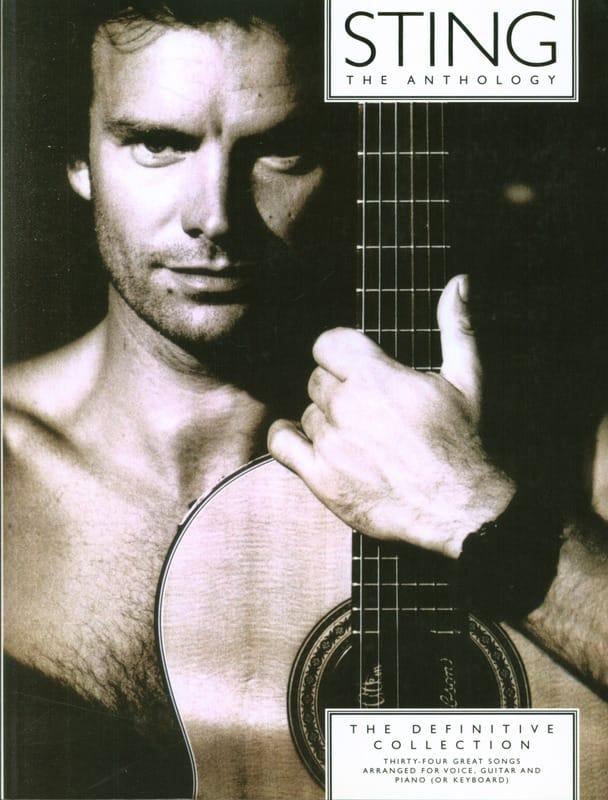 The Anthologie - Sting - Partition - Pop / Rock - laflutedepan.com