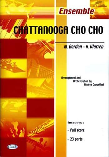 Chattanooga Cho Cho - Harry Warren - Partition - laflutedepan.com