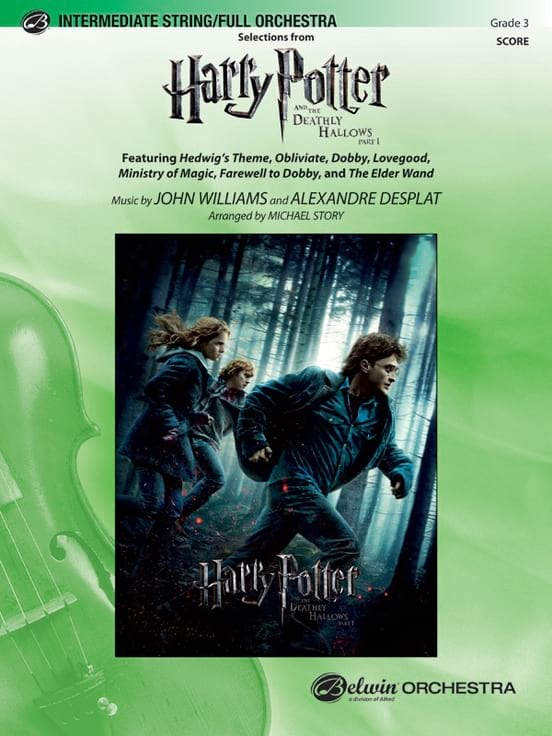 Harry Potter and the Deathly Hallows, Part 1 ,- score - laflutedepan.com