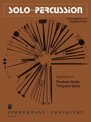 Pauken / Timpani Suite Siegfried Fink Partition laflutedepan