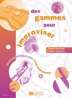 Reynaud Armand / Stanchev Mario - Des Gammes pour Improviser - Partition - di-arezzo.fr