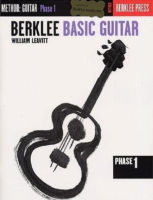 Basic Guitar - Phase 1 William Leavitt G. Partition laflutedepan