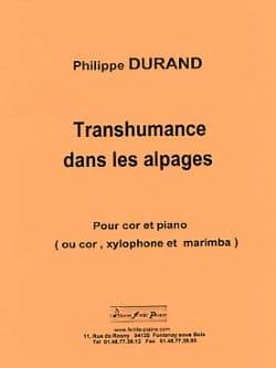 Transhumance dans les Alpages Philippe Durand Partition laflutedepan