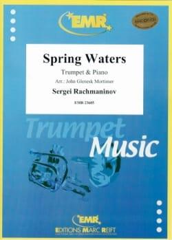 Spring Waters RACHMANINOV Partition Trompette - laflutedepan