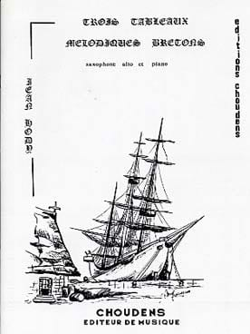 3 Tableaux Mélodiques Bretons Jean Hody Partition laflutedepan