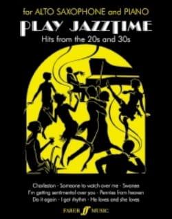 Play Jazz Time Partition Saxophone - laflutedepan