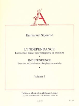 Indépendance Volume 6 Emmanuel Séjourné Partition laflutedepan