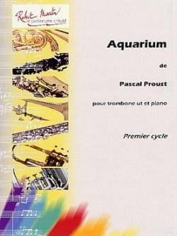 Aquarium Pascal Proust Partition Trombone - laflutedepan