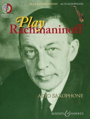 Play Rachmaninoff RACHMANINOV Partition Saxophone - laflutedepan