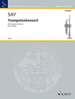 Concerto pour Trompette - Opus 31 Fazıl Say Partition laflutedepan