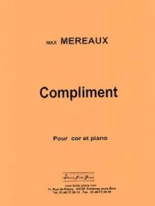 Compliment - Max Méreaux - Partition - Cor - laflutedepan.com