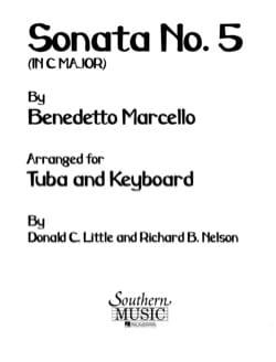 Sonata N° 5 In C Maj - Benedetto Marcello - laflutedepan.com
