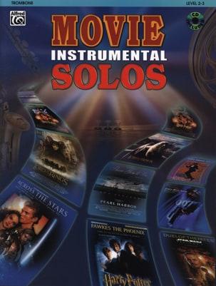 Movie instrumental solos Partition Trombone - laflutedepan