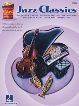 Big band play-along volume 4 - Jazz Classics Partition laflutedepan