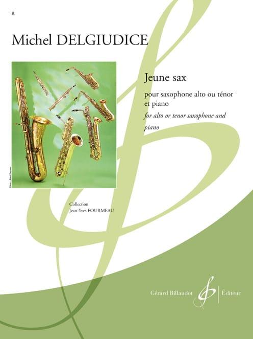 Jeune Sax - Michel Del Giudice - Partition - laflutedepan.com