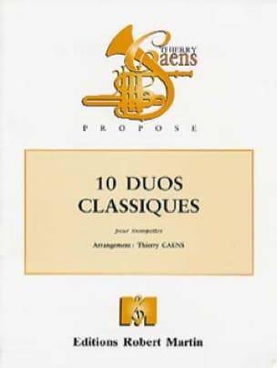 10 Duos classiques - Partition - Trompette - laflutedepan.com