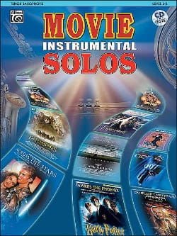 Movie instrumental solos Partition Saxophone - laflutedepan