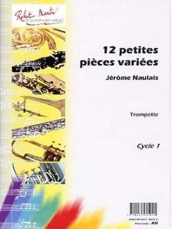 12 Petites Pièces Variées - Jérôme Naulais - laflutedepan.com