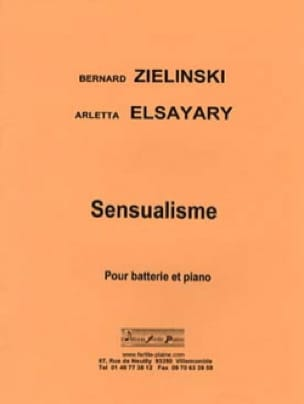 Sensualisme - Bernard ZIELINSKi et Arletta ELSAYARI - laflutedepan.com