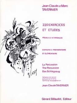 220 Exercices Et Etudes Cahier N° 2 TAVERNIER Partition laflutedepan