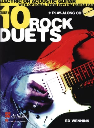10 Rock Duets Ed Wennink Partition Guitare - laflutedepan