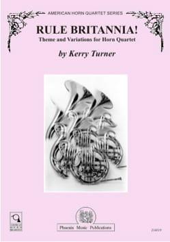 Kerry Turner - Rule Brittania! - Partition - di-arezzo.fr