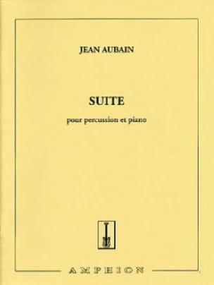 Suite - Jean Aubain - Partition - Multi Percussions - laflutedepan.com
