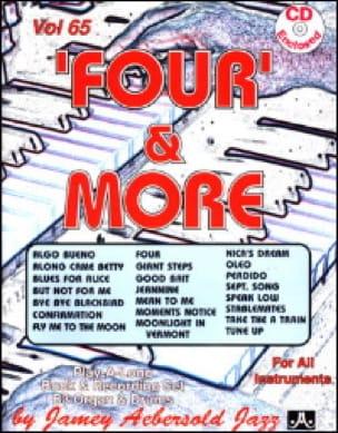 Volume 65 - Four & More - METHODE AEBERSOLD - laflutedepan.com