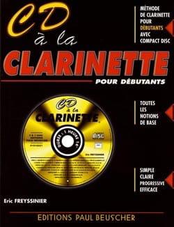 CD A la Clarinette Eric Freyssinier Partition laflutedepan