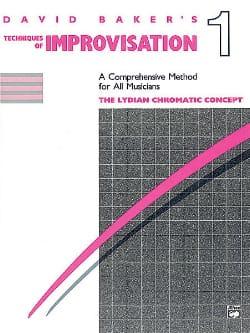 Techniques Of Improvisation 1 David Baker Partition laflutedepan