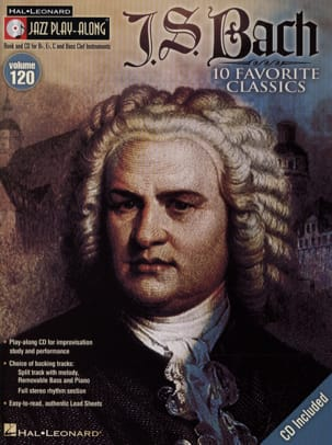 Jazz play-along volume 120 - J.S Bach BACH Partition laflutedepan