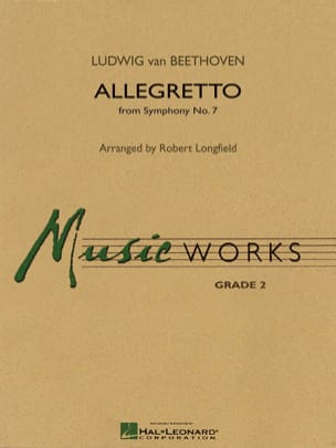 Allegretto from Symphony N° 7 BEETHOVEN Partition laflutedepan