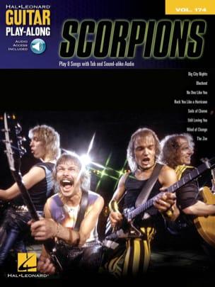 Guitar Play-Along Volume 174 - Scorpions Scorpions laflutedepan